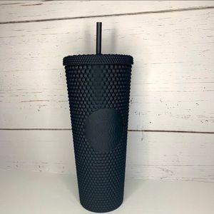 Starbucks 2021 Black Studded Matte Venti Cup-NWT